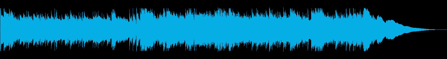 動画 感情的 静か 楽しげ クール...の再生済みの波形