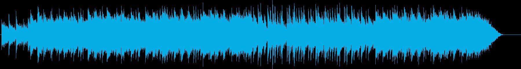 アイリッシュなワルツの再生済みの波形