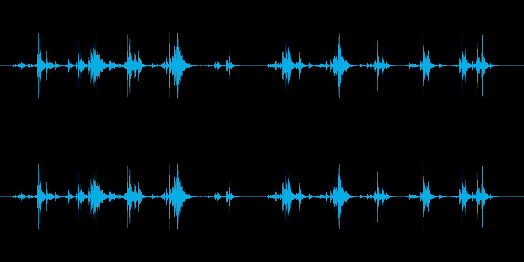 【筆箱01-8(振る)】の再生済みの波形