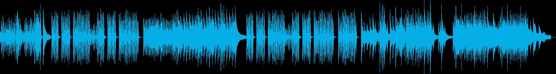 可愛らしくてほのぼのとしたピアノソロの再生済みの波形