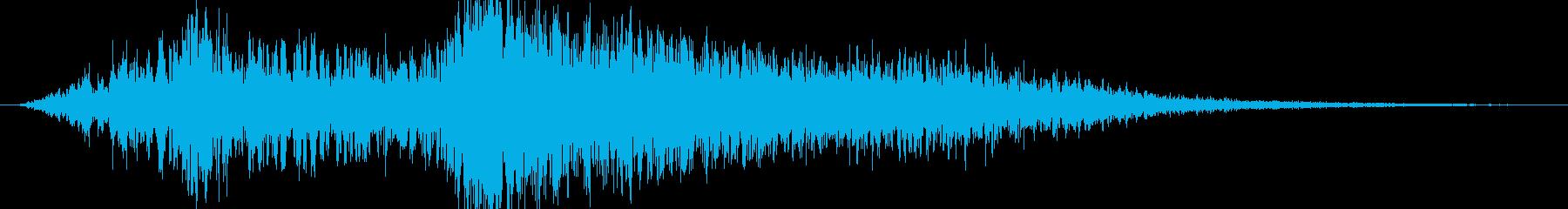 海岸 コーストワンショットサーフス...の再生済みの波形