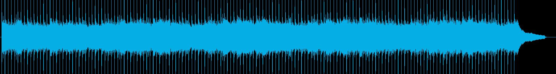 企業VP系60、爽やかピアノ、4つ打ちbの再生済みの波形
