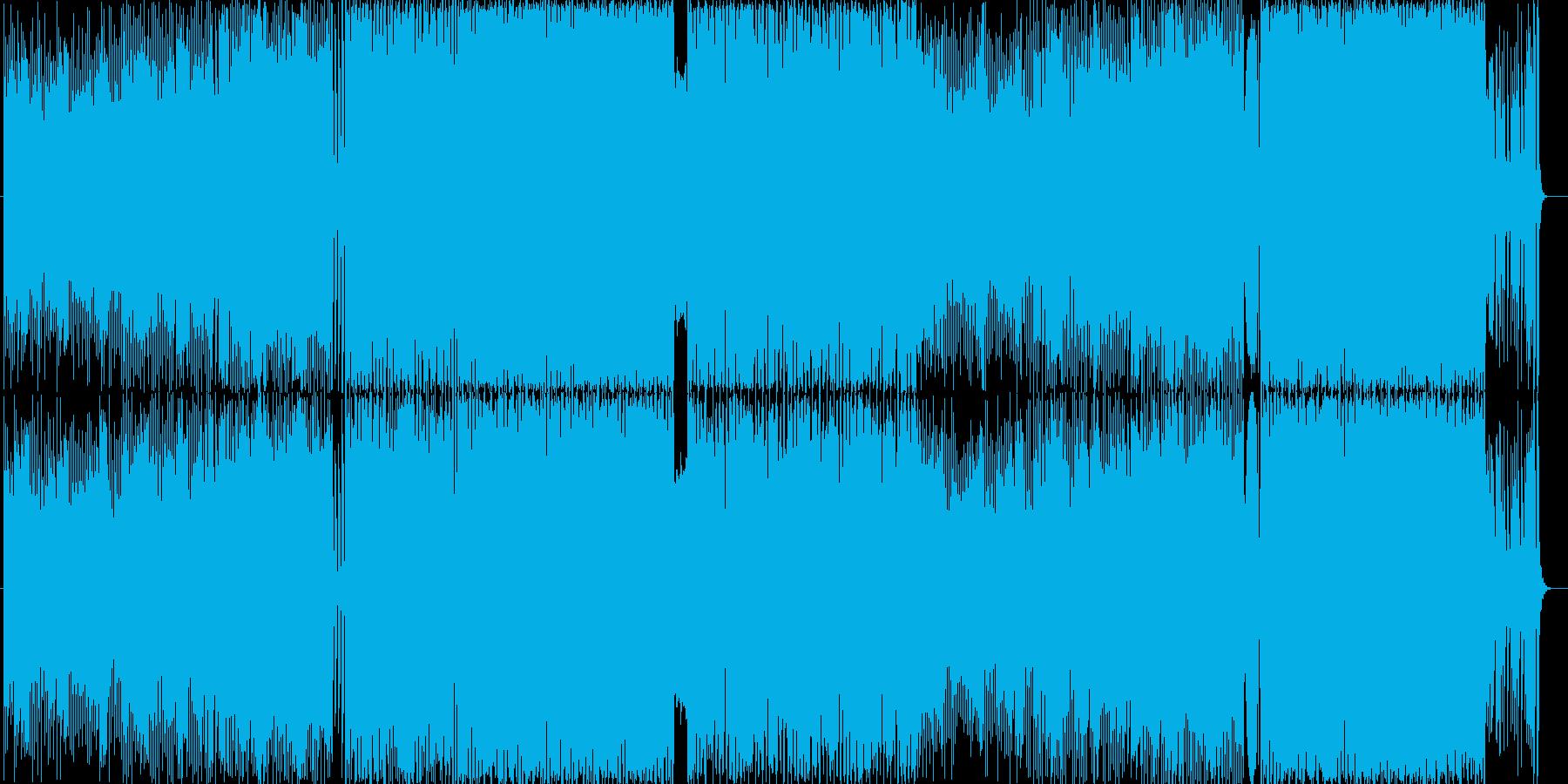 EDM風BGM BPM130 の再生済みの波形