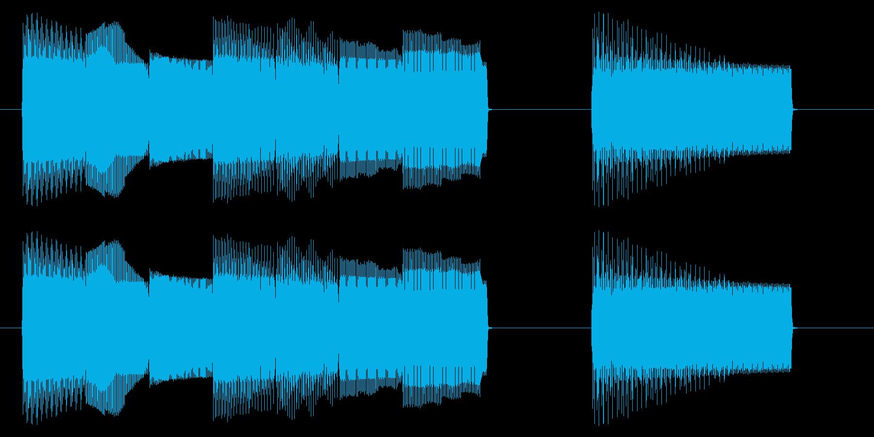 NES レース A05-3(ゲームオーバの再生済みの波形