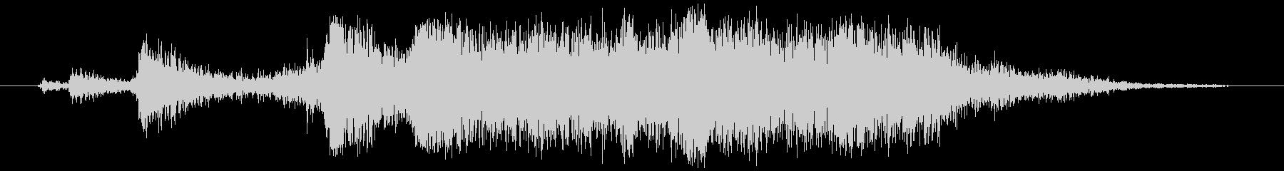 アルミホイル(刃で切る)カシャ+ビリッの未再生の波形