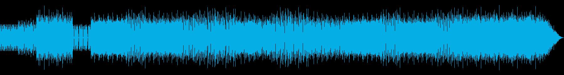 ヒップホップミクスチャーのラップ抜きの再生済みの波形