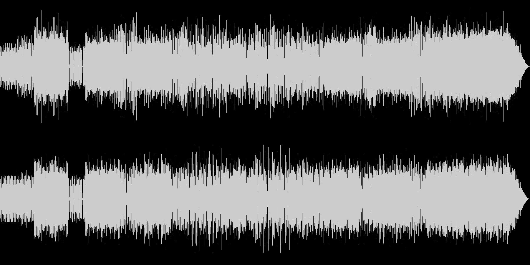 ヒップホップミクスチャーのラップ抜きの未再生の波形