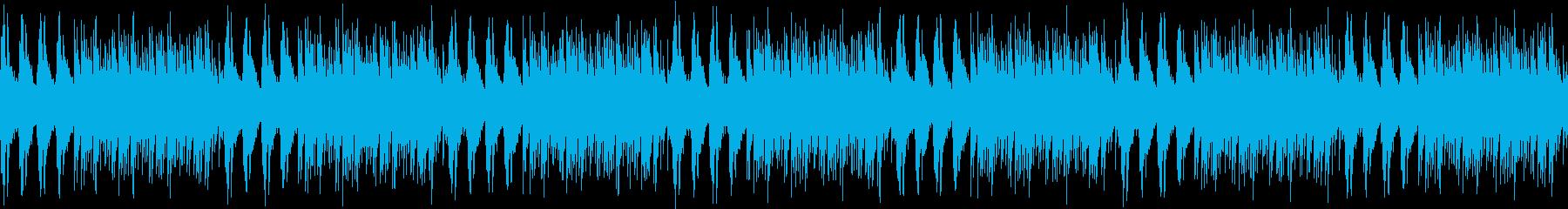 ループ ミニマル、エレクトロニカ、チルの再生済みの波形