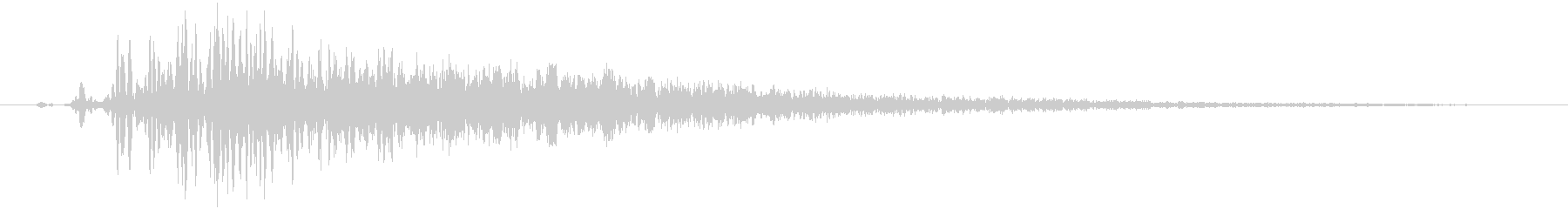 詠唱(魔方陣発生)の未再生の波形
