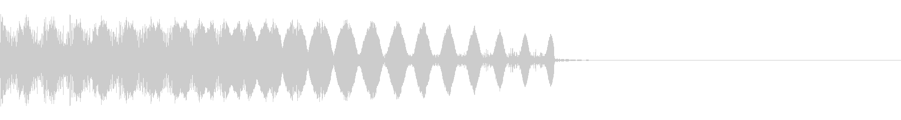 スパイシーなゲーム効果音,SE07-03の未再生の波形