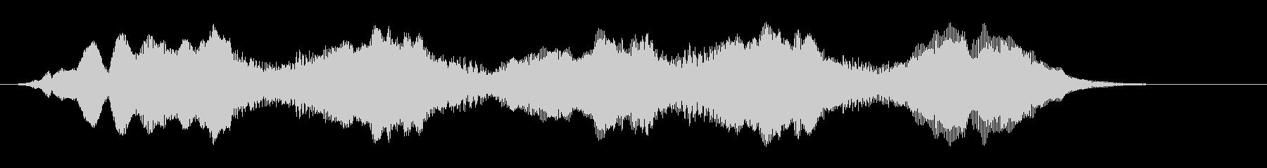 管楽器のジングル やや暗め シリアスの未再生の波形