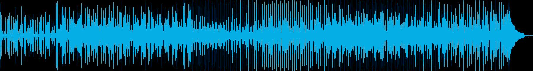 ベース、リードギター、エレクトリッ...の再生済みの波形