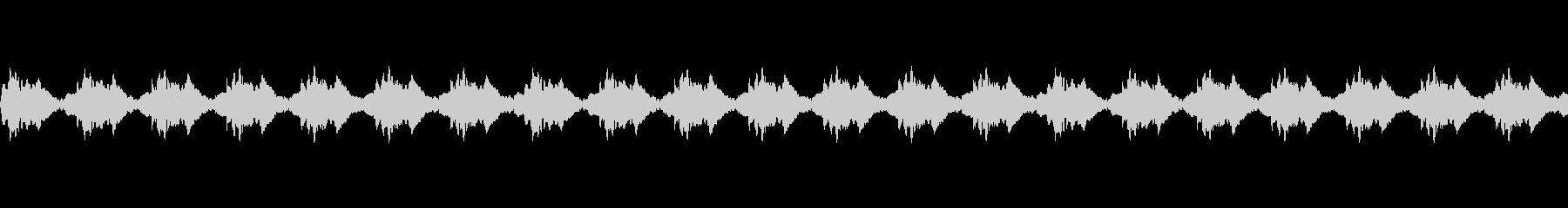 カーアラーム4の未再生の波形