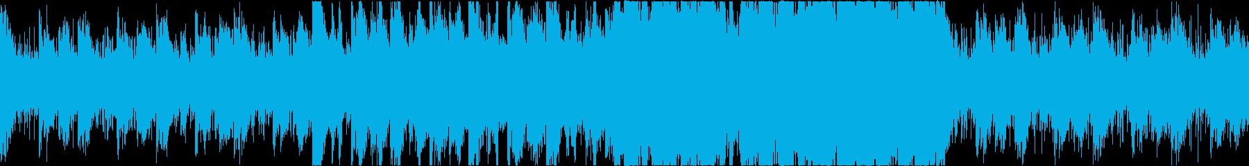 ゲームクエストなどを進行していくような曲の再生済みの波形