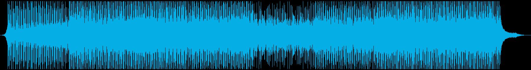 ハッピーの再生済みの波形