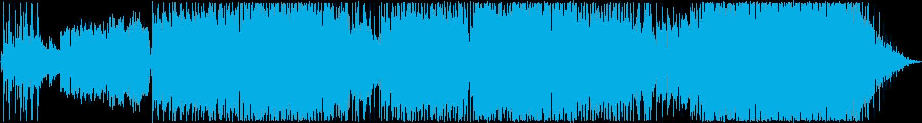 明るく切ないバラードの再生済みの波形