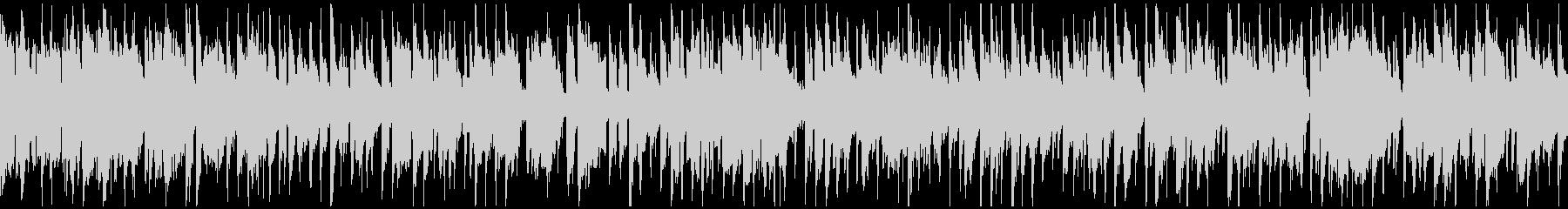 スタイリッシュなクラブジャズ ※ループ版の未再生の波形
