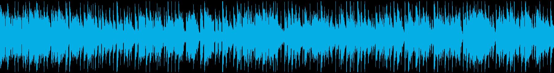 スタイリッシュなクラブジャズ ※ループ版の再生済みの波形