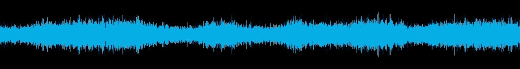 【生録音】ループで使える夏の虫の声 3の再生済みの波形