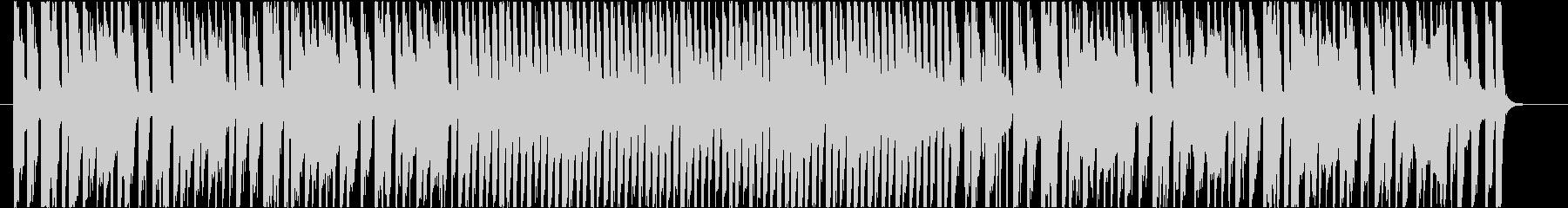 明るくポップなオープニングBGMの未再生の波形
