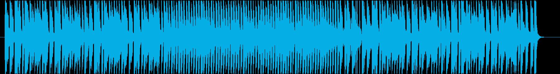 明るくポップなオープニングBGMの再生済みの波形