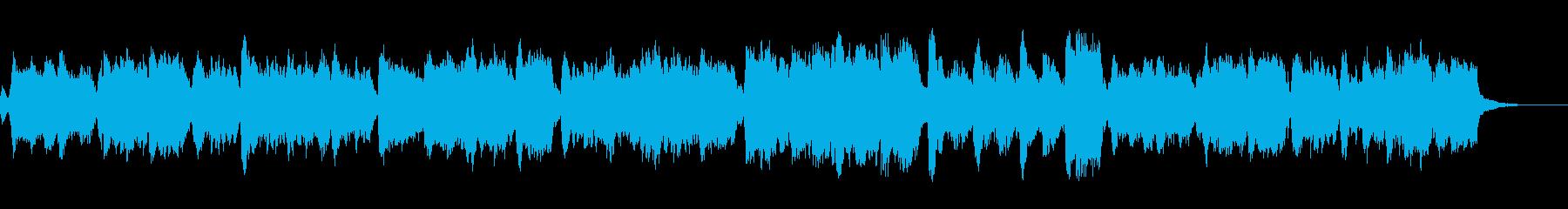 ハリウッド「短くて壮大」オーケストラfの再生済みの波形