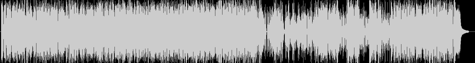 軽快なブルースピアノの未再生の波形