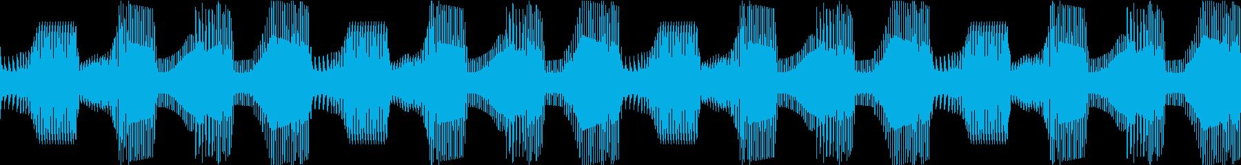 Techno ベース 9 音楽制作用の再生済みの波形