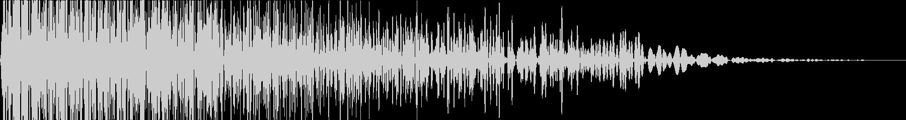 ビューン(ゲーム/移動音/効果音)の未再生の波形