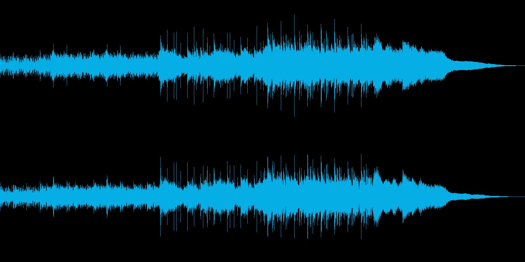 切なくも温かな感動的ピアノ+バイオリンの再生済みの波形