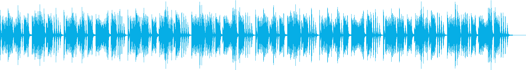 明るく可愛らしいコミカルなピアノのBGMの再生済みの波形