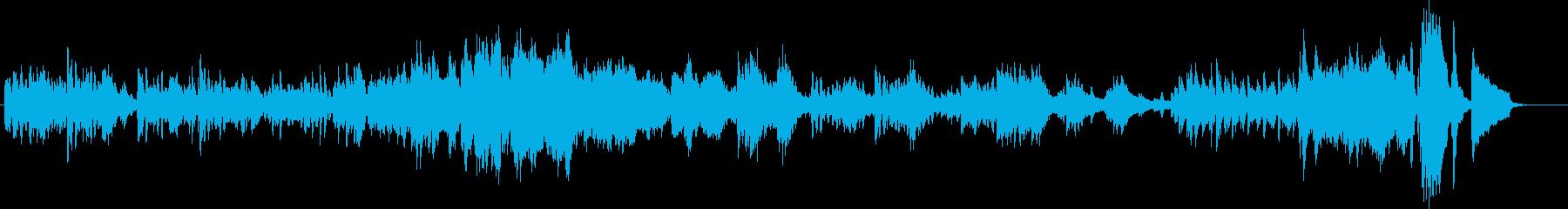 ショパン練習曲12-5明るくてキラキラの再生済みの波形
