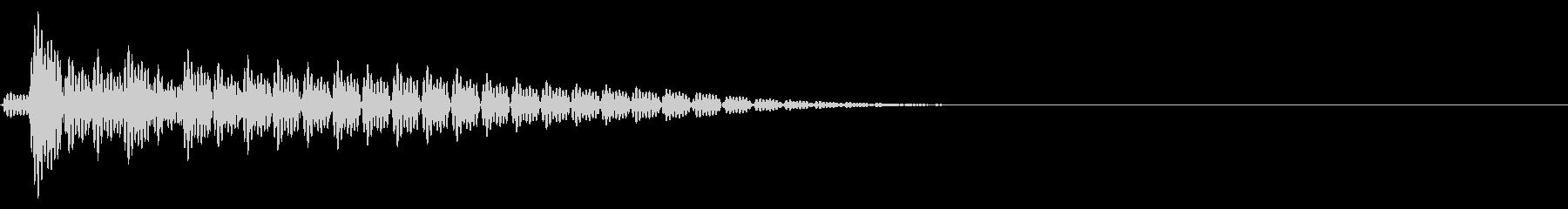 Anime PC起動・シャットダウンの音の未再生の波形