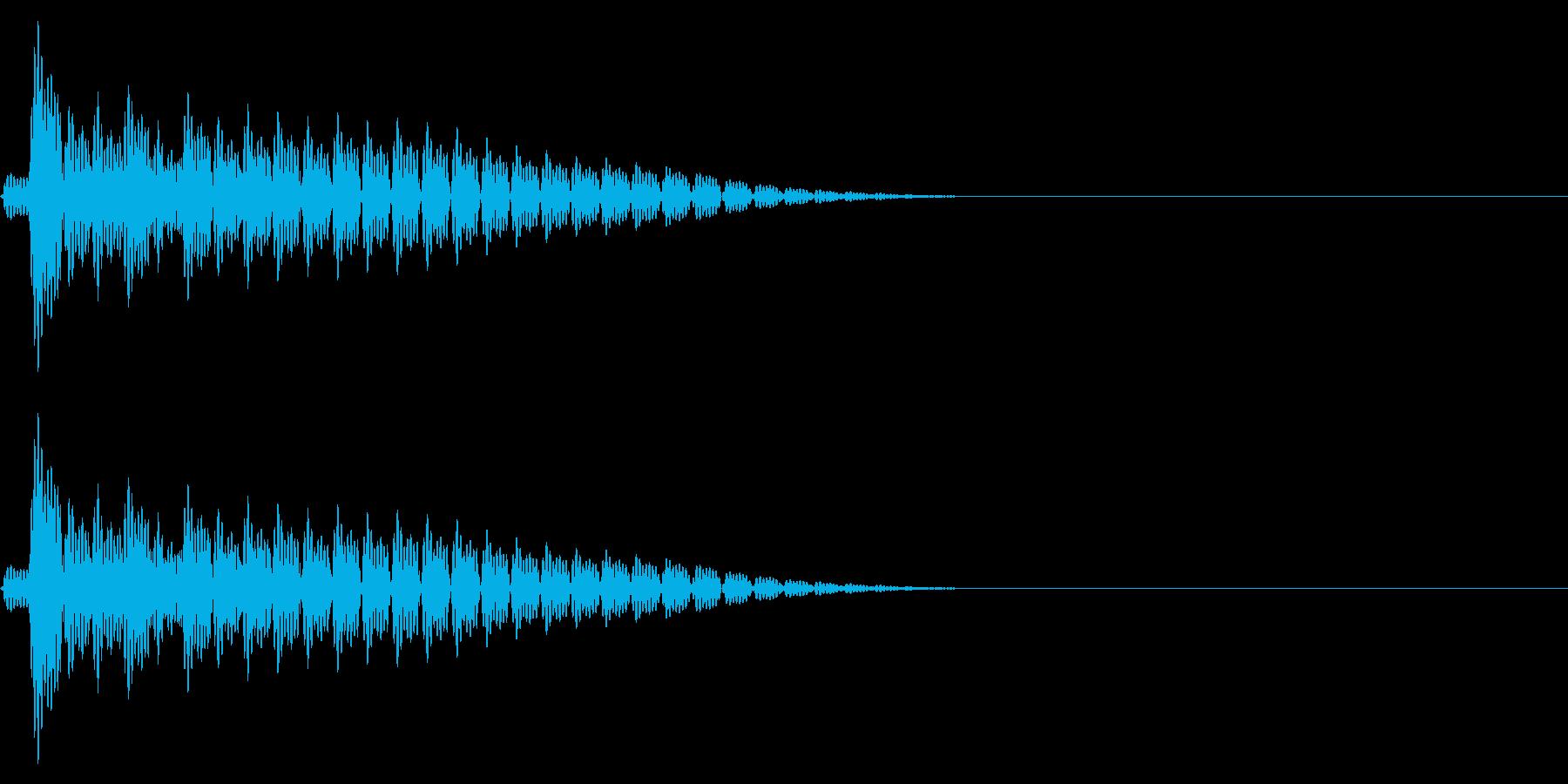 Anime PC起動・シャットダウンの音の再生済みの波形
