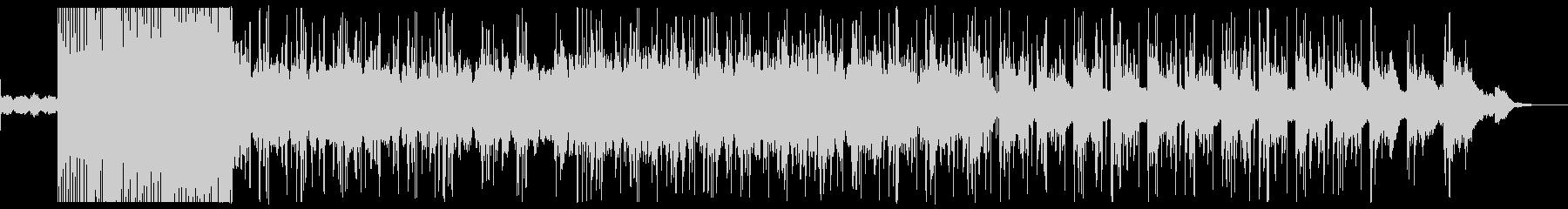 チルで印象的なシンセサウンドの曲の未再生の波形
