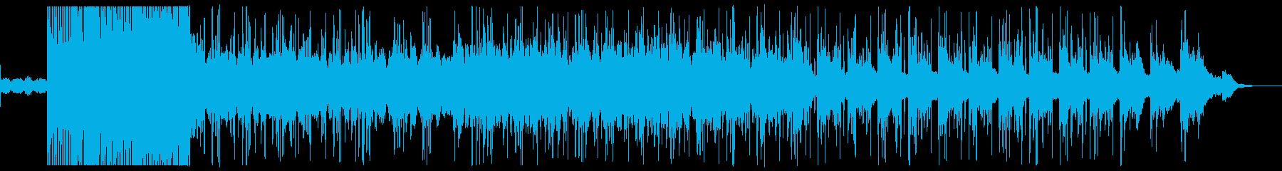 チルで印象的なシンセサウンドの曲の再生済みの波形