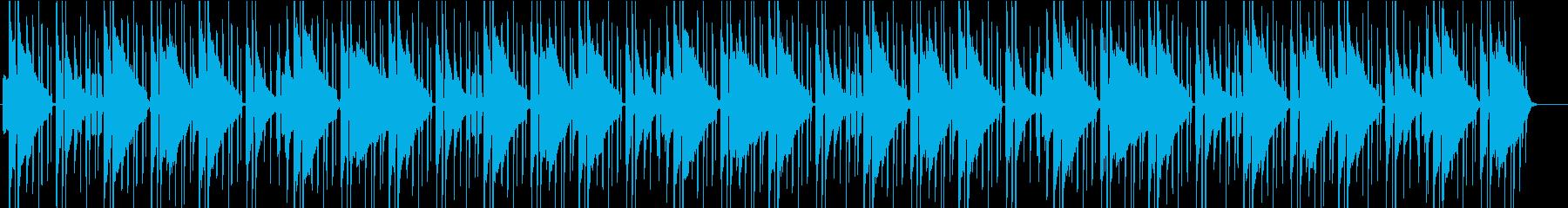 どうぶつの森っぽいBGM ~夜中~の再生済みの波形