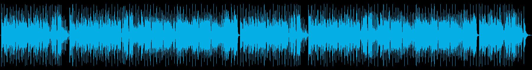 商品紹介やトークに♪王道のほのぼの日常曲の再生済みの波形