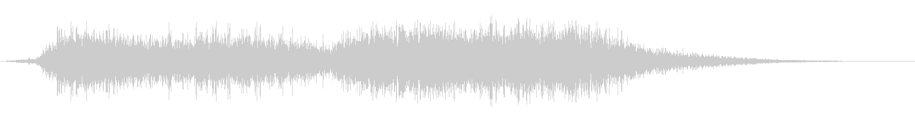 怒ったフラッターフーシュ5の未再生の波形
