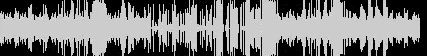 生サックスでベースが疾走するfunkの未再生の波形