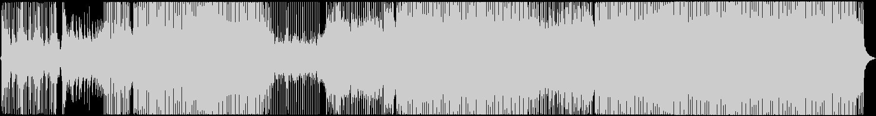 ピアノのアタック音が心地よいハウスの未再生の波形