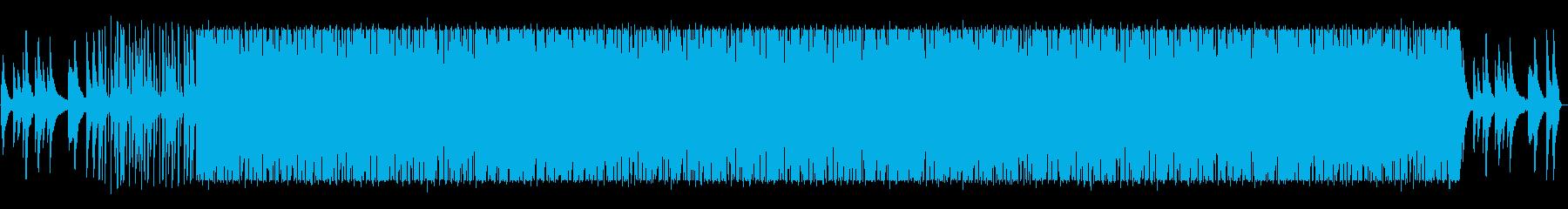 ピアノループがメインのローファイチルの再生済みの波形