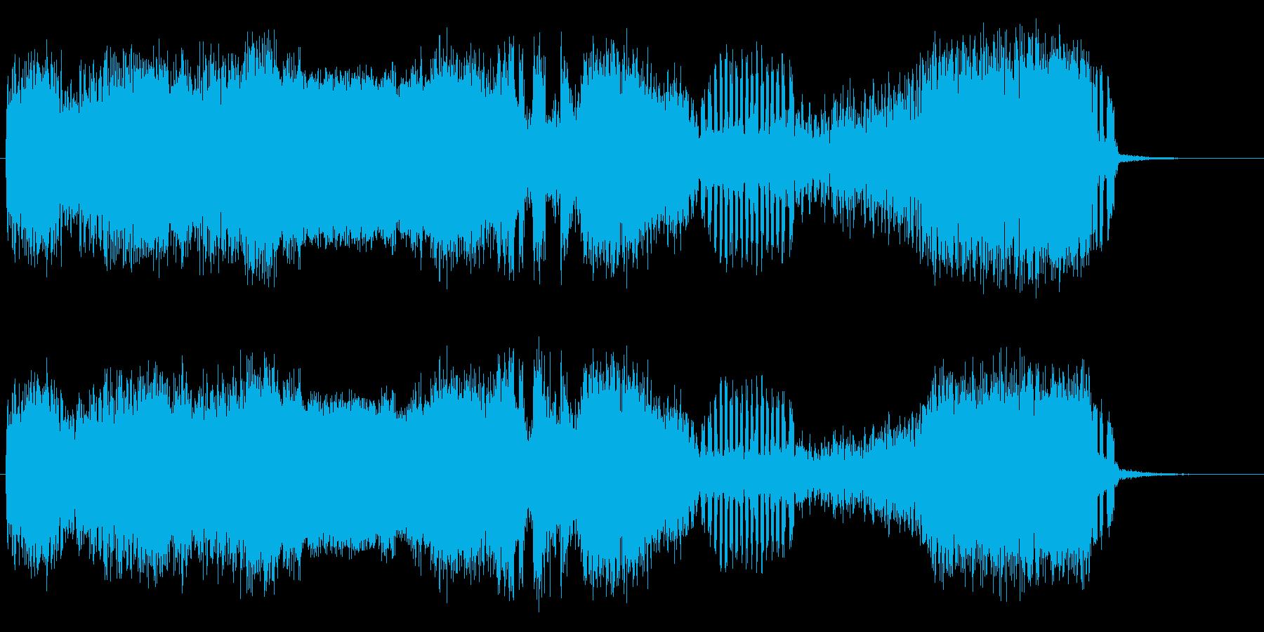 マイナー乱気流の再生済みの波形