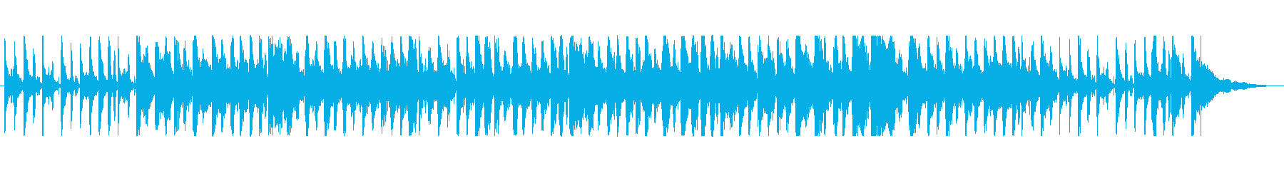 エビの食品をテーマにした楽曲の再生済みの波形