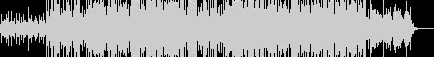 ダークでクールな王道HipHopの未再生の波形