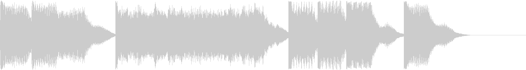 AI メカ/ロボ/マシン動作音 5の未再生の波形