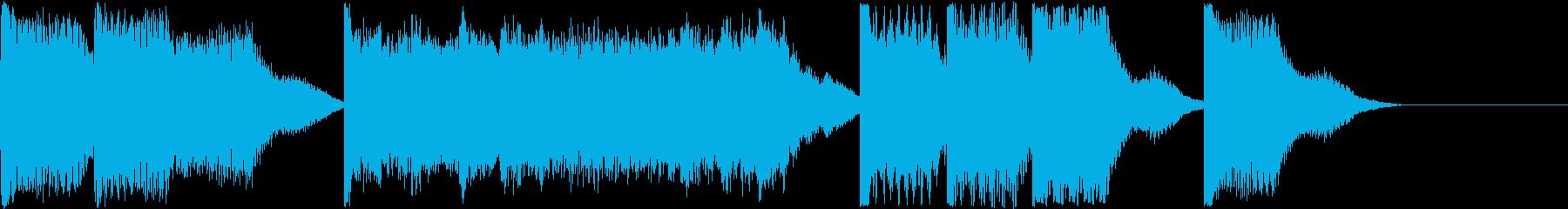AI メカ/ロボ/マシン動作音 5の再生済みの波形