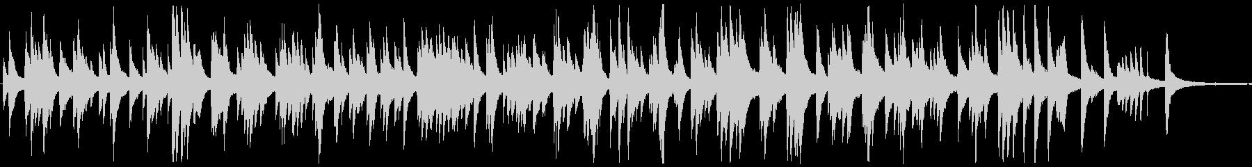 しっとりとしたジャズ風ラウンジピアノソロの未再生の波形