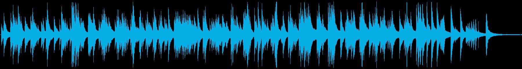しっとりとしたジャズ風ラウンジピアノソロの再生済みの波形