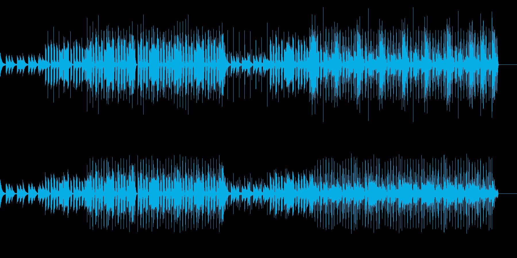 【Lo-fiHIPHOP】チルリラックスの再生済みの波形